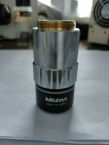 Mitutoyo Objective Lens Qv objective 2 5x 0 with Good Condition