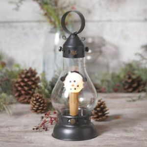 Hurricane New Accent Lamp With Snowman Bulb