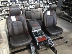 F150 King Ranch Seats And Console 2017 F150