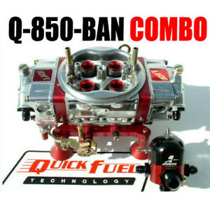 Quick Fuel Q 850 ban Annular Mech Blow Through With Bypass Regulator Carb