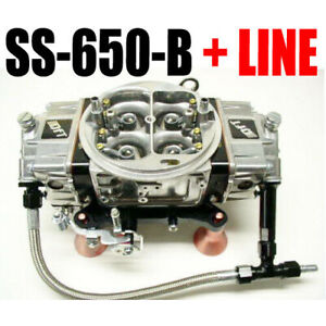 Quick Fuel Ss 650 b Mech Blow Through Black Down Leg With 6 Line Kit