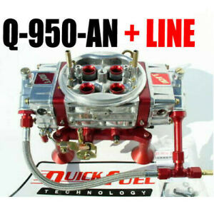 Quick Fuel Q 950 an Technology 950 Annular Mech Drag Race Red Line Kit