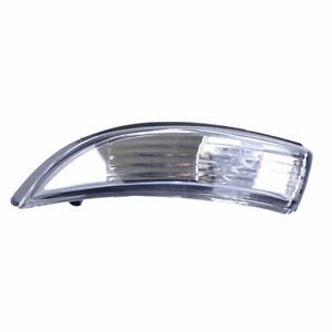 Left Rearview Mirror Turn Signal Lamp Housing Cover Fit For Ford Fiesta 08 2018