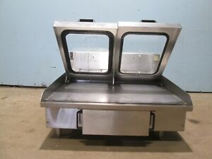 american Griddle Hd nsf Commercial 36 w 208 240v 3 Electric steam Griddle