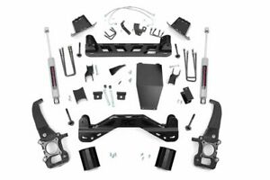 Rough Country 6 Lift Kit Withn3 Shocks For 2004 2008 F150 4wd 54620