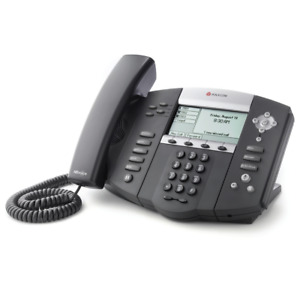 Refurb Polycom 2200 12651 025 Soundpoint Ip 650 6 line Sip Phone W Power Supply