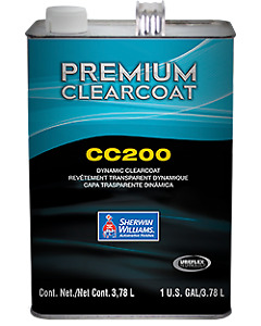 Sherwin Williams Premium Dynamic Clearcoat Cc200 1 Gallon Automotive Paint