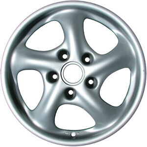 67243 Refinished Porsche 911 1999 2001 17 Inch Wheel Rim Oe