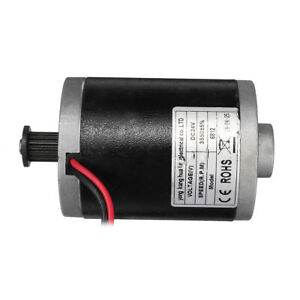 Dc 24v 100w Permanent Magnet Electric Brushed Motor Generator Diy Scooter Parts