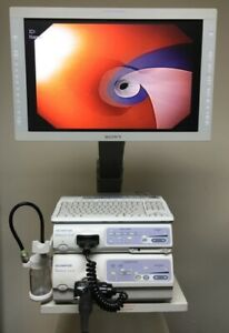 Olympus Cv 180 Hd Evis Exera Ii Video Endoscopy System Endoscope