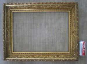 Antique Medium Gilt Gold Gesso Museum Quality Gallery Picture Painting Frame