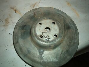 Gm Double Groove Water Pump Pulley 8 X 2 1 2