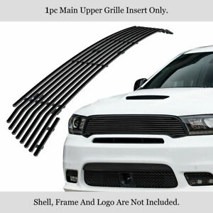 Fits 2014 2019 Dodge Durango Gt Rt Srt Main Stainless Black Billet Grille Insert