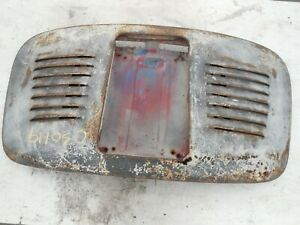 Porsche 356 Engine Motor Deck Lid Cover Speedster Cabrio Conv Open Car Flat Tray