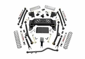 Rough Country 4 0 Long Arm Suspension Lift Kit For Grand Cherokee 90222