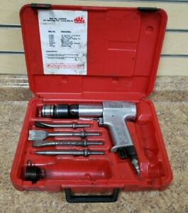 Mac Tools Ah650k Air Hammer Kit Long Barrel Pre Owned W Case Free Shipping