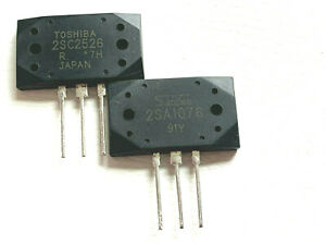 2sc2526 2sa1076 Npn Pnp Silicon General Purpose High Speed By