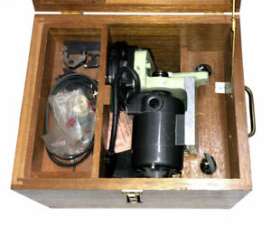 Nice Moore Tools Slot Grinding Attachment In Wooden Case W Accessories