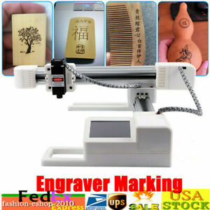 3w Desktop Laser Engraving Machine Engraver Diy Wood Marking Machine Printer Us