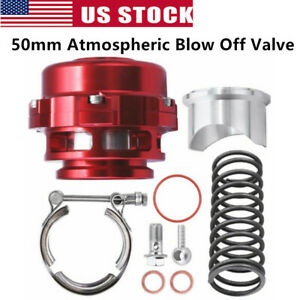 Fit Tial 50mm Blow Off Valve Red Version 1 top Quality Fast Free Shipp Usa