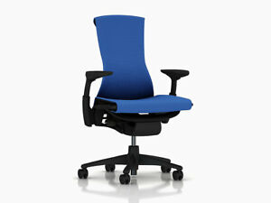 Herman Miller Embody Office Chair Brand New Berry Blue Balance Fabric