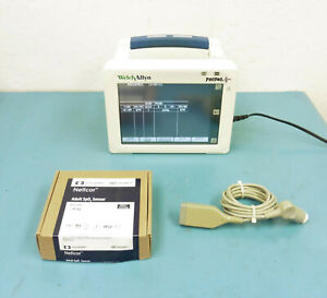 Welch Allyn 246 Propaq Cs Patient Monitor W Power Supply Accessories