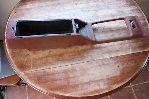 79 83 Datsun 280zx Bare Center Console Red Oem Used