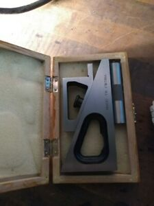 Planer And Shaper Gage With Wood Box
