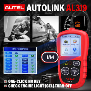 Autel Al319 Obd Eobd Can Obd2 Code Reader Auto Diagnostic Tool Car Check Engine
