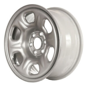 62449 New Compatible Silver Steel 16x7 Spare Wheel