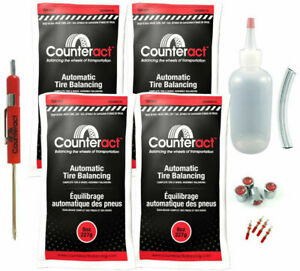 Counteract Diyk 8 Tire Balancing Beads 8oz Diy Kit 32oz