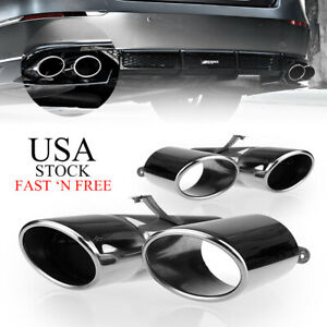 For 2018 2019 2020 Honda Accord Sport Touring Akasaka Quad Tip Muffler Exhaust D
