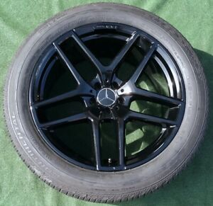 Factory Mercedes benz Amg Wheels Tires Gle43 Black 21 Inch Oem Gle63 Set