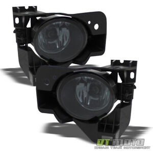 Smoked Fit 09 15 Maxima Bumper Fog Lights Lamps Left Right 2009 2015 Aftermarket