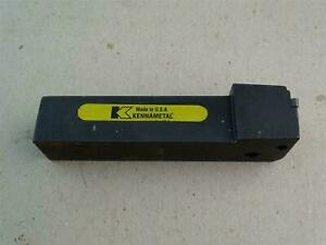 Kennametal Indexable Lathe Grooving And Cutoff Tool Holder Hi6 Ntfnl 164c