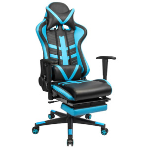 Homall Gaming Chair Ergonomic High back Racing Chair Pu Leather Bucket Swivel