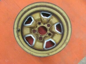 1974 74 Oldsmobile Olds Cutlass 14x7 Ss Ii Rally Wheel Rim Hurst Olds M54 4 9 Mj