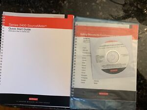 Keithley Model 2400 Sourcemeter Manuals Software