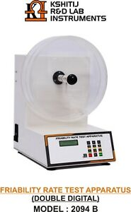 Tablet Friability Test Apparatus Auto Inject System Double Digital