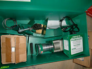 Greenlee 805 Fiber Optic Cable Tugger With Recorder Appears Never Used New