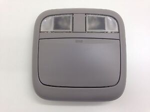 00 01 02 03 04 05 06 Nissan Sentra Overhead Console Dome Light Gray Grey U51
