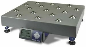 Mettler Toledo Bc 60 Shipping Scale Ball Top Platter 150lb 60kg 7 Seg Display