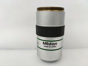 Mitutoyo Bd Plan Apo 20x 0 42 0 F 200 with Very Good Condition