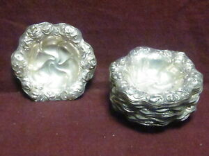 1 W B Kerr Sterling Nut Or Candy Dish 3 3 8 X 3 4 386 22g No Mono