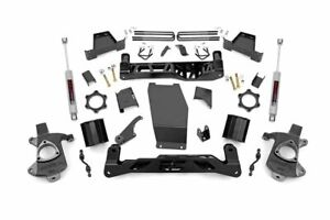 Rough Country 6 Lift Kit fits 14 18 Chevy Silverado Sierra 4wd 1500 N3 Shocks