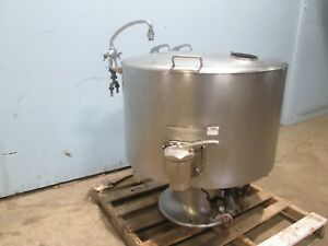 vulcan Ksh 40 Heavy Duty Commercial Direct Steam 40gal Steam Jacketed Kettle