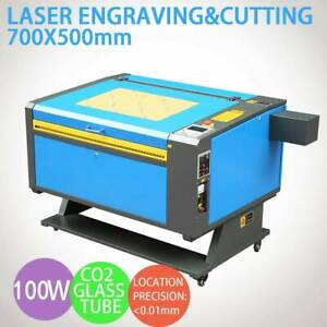 100w Co2 Laser Engraver Cutter Engraving Cutting Machine700x500mm 110v