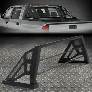 For 07 19 Silverado Sierra Styleside Truck Bed Aluminum Mesh Chase Rack Roll Bar