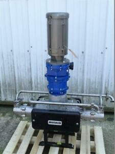Binks E2 Electric Smart Pump 1hp 230 460v 1 Sanitary Connections 104018