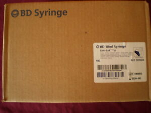 Bd 10ml Syringe Luer lok Tip Box Of 200 5083516